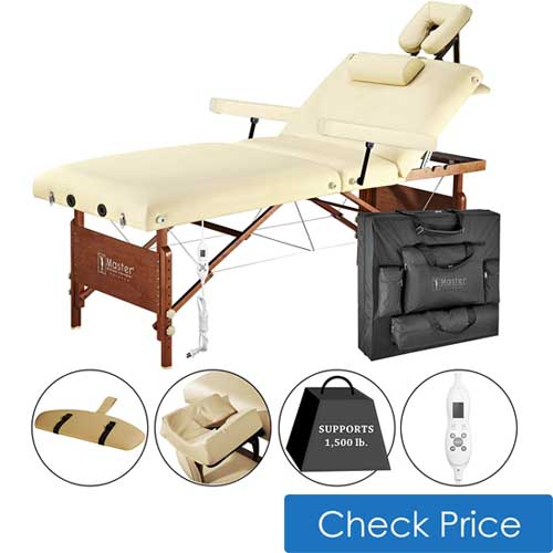 Best thermal heating massage table