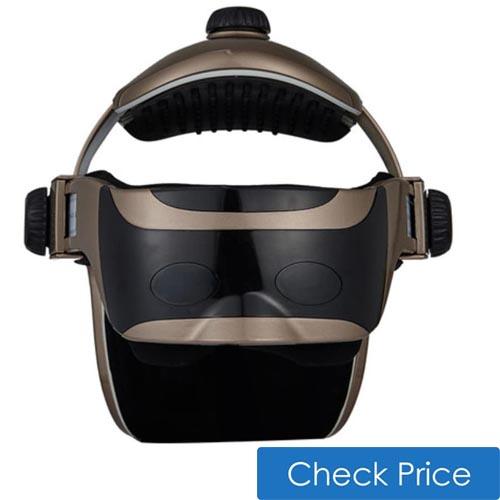 head eye massager helmet